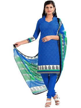 Khushali Fashion Cotton Self Dress Material -Bgssnr44011