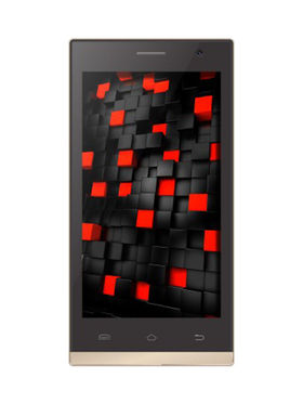 XCCESS BLAZE Android Kitkat 3G Dual SIM Smartphone - Gold