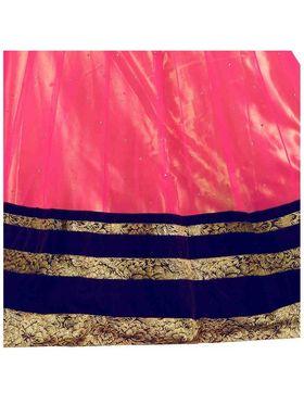 Styles Closet Designer Net Semi Stitched Lehenga Choli -Bnd-Pc5005