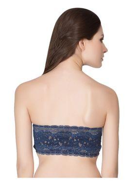 Clovia Nylon Lace Embroidered Bra -BR0111C08