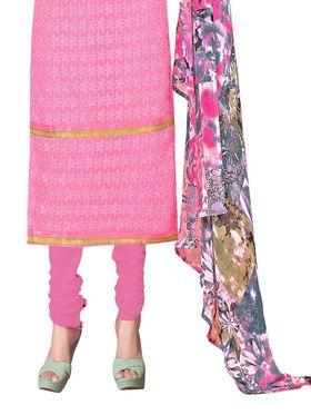 Khushali Fashion Georgette Embroidered Unstitched Dress Material -BRCRHI41001