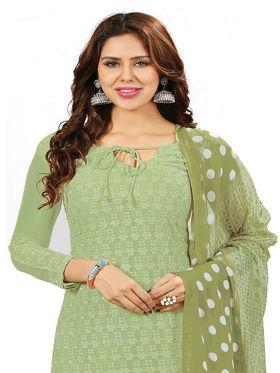 Khushali Fashion Georgette Embroidered Unstitched Dress Material -BRCRHI41002