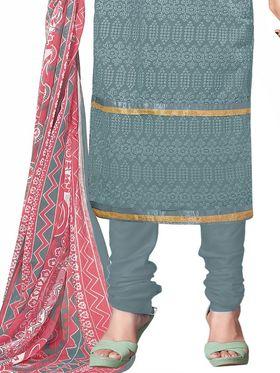 Khushali Fashion Georgette Embroidered Unstitched Dress Material -BRCRHI41003