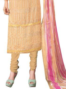 Khushali Fashion Georgette Embroidered Unstitched Dress Material -BRCRHI41010
