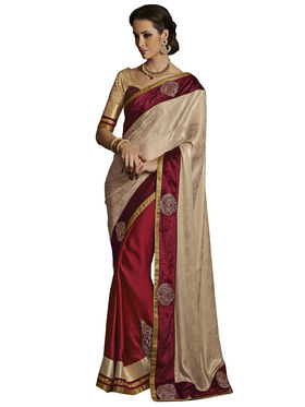 Combo of 3 Bahubali Embroidered Saree - CMB002