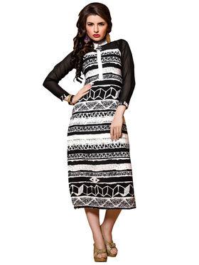 Khushali Fashion Georgette Printed Stitched Kurti -Cnt1753