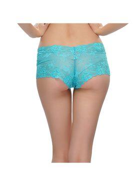 Pack Of 4 Clovia Cotton &  Nylon Solid Bra & Panty -Comnaap01