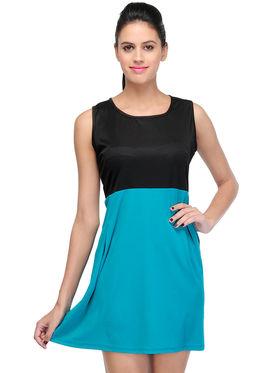 Arisha Viscose Solid Dress DRS1024_Trq
