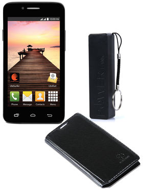 Datawind Pocket Surfer 3G4 with Power Bank & Flip Cover