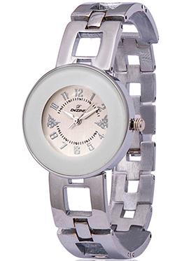 Dezine Wrist Watch for Women - Cream_DZ-LR016-WHT-CH