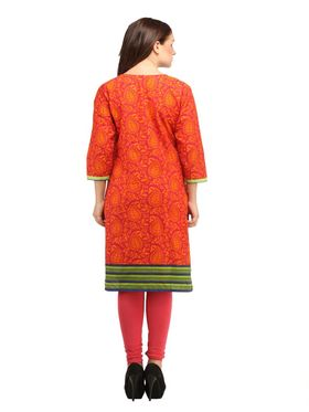 Branded Cotton Printed Kurtis -Ewsk0615-1351