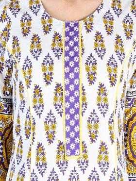 Branded Cotton Printed Kurtis -Ewsk0715-1422