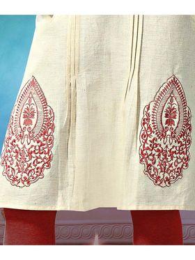 Pack of 3 Viva N Diva Emboridered Khadi Cotton Kurti -vna02