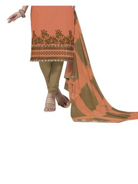 Fabfiza Embroidered Cotton Semi Stitched Straight Suit_FBIM-06