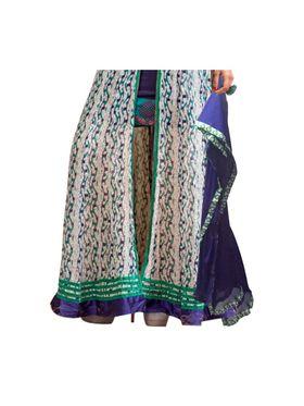 Fabfiza Embroidered Georgette Semi Stitched Anarkali Suit _FBPH14-2040