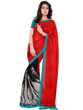 Florence Bhagalpuri silk Printed  Sarees FL-10747-OCT