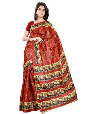 Florence Art Silk Printed  Sarees FL-10946