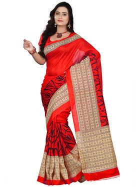 Florence Bhagalpuri silk Printed  Sarees FL-10947