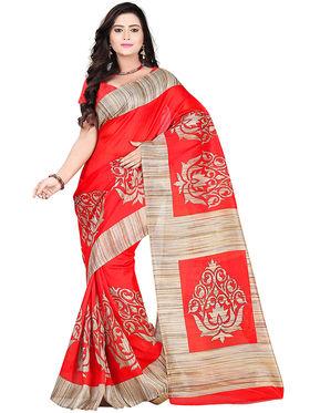Florence Bhagalpuri silk Printed  Sarees FL-10953