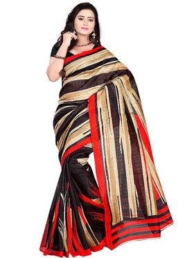 Florence Bhagalpuri silk Printed  Sarees FL-10956