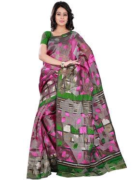 Florence Bhagalpuri silk Printed  Sarees FL-10980-A