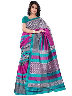 Florence Bhagalpuri silk Printed  Sarees FL-10988