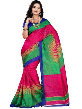 Florence Bhagalpuri silk Printed  Sarees FL-10989