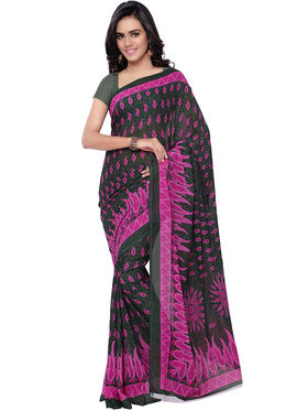 Florence Printed Faux Georgette Sarees -FL-11221
