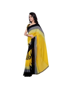 Florence Printed Faux Georgette Sarees -FL-11239