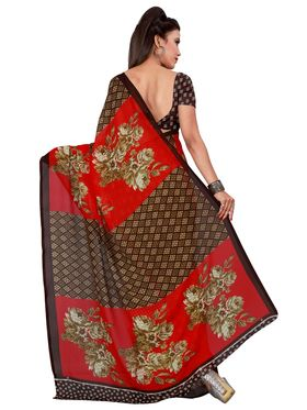 Florence Printed Faux Georgette Sarees FL-11748