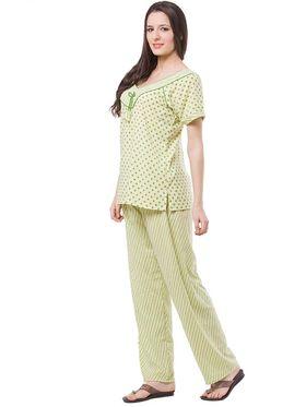 Pack of 3 Fasense Crush Cotton Nightwear  - DPCOM82