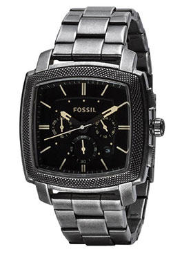 Fossil Analog Wrist Watch for Men - Black_12388905