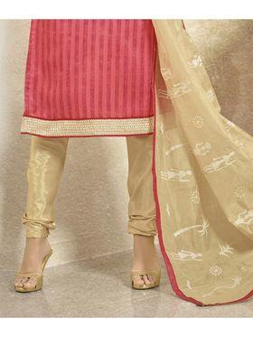 Viva N Diva Bhagalpuri Patch Work Unstitched Dress Material Gazee-8011