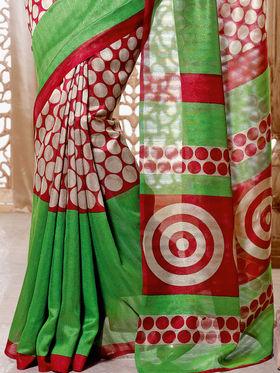 Marvellous Collection of 7 Tussar Art Silk Sarees (7B5)