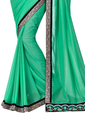 Shonaya Embroidered Lace Georgette Sarees -Hivl2-63005