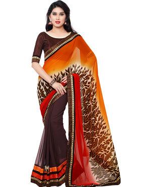 Indian Women Georgette Saree -IC40406