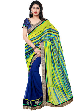 Indian Women Georgette Saree -IC40408