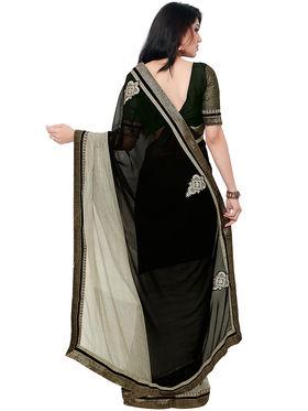 Indian Women Georgette Saree -IC40417