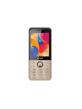 Intex Turbo Style 2.8 Inch Dual SIM Mobile Phone