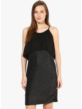 Kaxiaa Poly Elastane Plain Dresses -K-DR-31066A