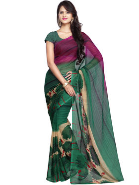 Arisha Georgette Printed Saree -Khgjsar6255