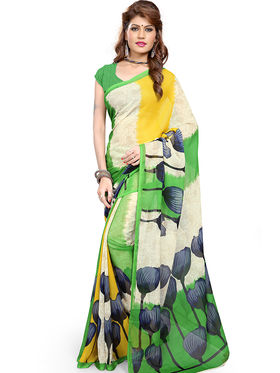 Arisha Georgette Printed Saree -Khgjsfar13