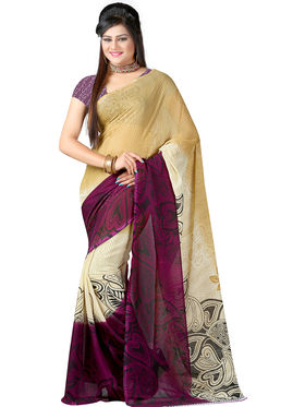 Arisha Georgette Printed Saree -Khgsstar119
