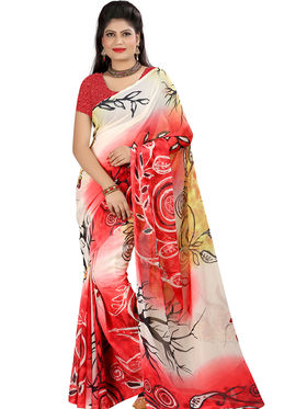 Arisha Georgette Printed Saree -Khgsstar199