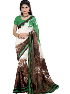 Arisha Georgette Printed Saree -Khgsstar205