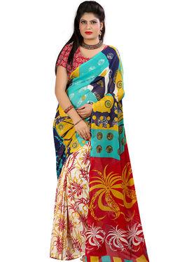 Arisha Georgette Printed Saree -Khgsstar213
