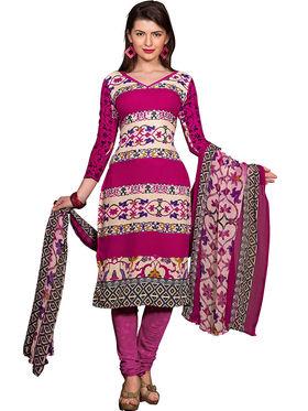 Khushali Fashion Crepe Printed Dress Material -Kpplpl8010