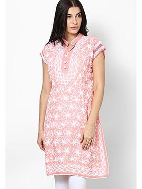 Arisha Cotton Printed Kurti KRT6019-Pch