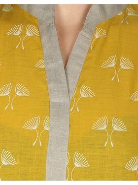 Sai Arisha Solid Cotton Kurti -ars47