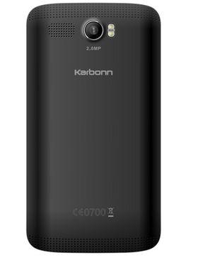 Karbonn Alfa A110 Dual Sim Smartphone - Black&Champagne